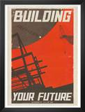 Star Trek Movie Building Your Future Poster Print Prints