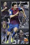 Barcelona-Messi Collage Print