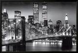 New York Manhattan Black - Berenholtz Posters