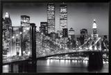 Nueva York, Manhattan, Negro, Berenholtz Póster
