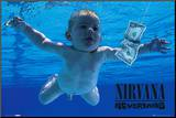 NIRVANA - Nevermind Mounted Print