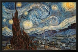 Starry Night, c. 1889 Print by Vincent van Gogh