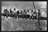 Lunch Atop a Skyscraper, c.1932 Poster by Charles C. Ebbets