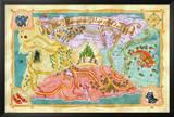 Marvelous Map of Oz Prints