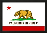 California State Flag Poster Print Posters