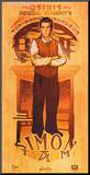 Serenity Movie Firefly Les Hommes Simon Tam Poster Affiche montée sur bois