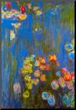 Claude Monet Waterlillies Art Print Poster Mounted Print