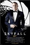 James Bond Skyfall - Credits Mounted Print
