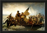 Emanuel Leutze Washington Crossing the Delaware River Art Print Poster Posters