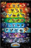 Skylanders Giants - Group Mounted Print