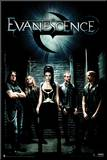 Evanescence - Group Shot Mounted Print