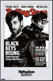 Black Keys Rolling Stone Cover Music Poster Mounted Print