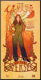 Serenity Movie Firefly Les Femmes Kaylee Frye Tour Mounted Print