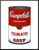 Andy Warhol - Plechovka Campbell's Soup I, 1968 Reprodukce aplikovaná na dřevěnou desku