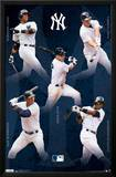 New York Yankees Collage 2012 Print