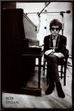 Bob Dylan - Piano Mounted Print