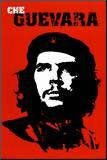 Che Guevara Impressão montada