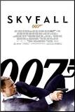 James Bond Skyfall - One Sheet Mounted Print