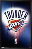Oklahoma City Thunder Logo Posters