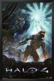 Halo 4 Video Game Poster Print Prints