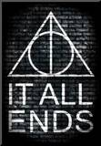 It All Ends Final Episode Movie Poster Mounted Print