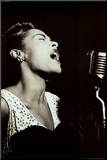 Billie Holiday Mounted Print