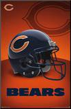 Chicago Bears - Logo Mounted Print
