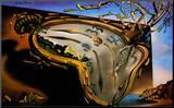 Soft Watch at the Moment of First Explosion, c.1954 Montert trykk av Salvador Dalí