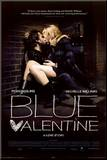 Blue Valentine Mounted Print