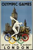 London 1948 Olympics Mounted Print