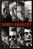 Sons of Anarchy Samcro TV Poster Print Mounted Print