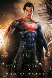 Superman Man of Steel - Explosion Plakater