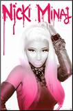 Nicki Minaj Mounted Print