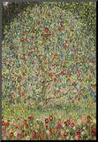 Gustav Klimt (Apple Tree) Art Poster Print Mounted Print