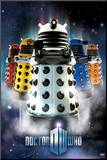 Doctor Who - Daleks Mounted Print