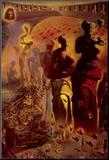 The Hallucinogenic Toreador, c.1970 Impressão montada por Salvador Dalí