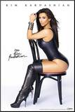 Kim Kardashian Chair Mounted Print