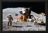Moon Landing Salute Archival Photo Poster Print Posters