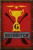 Quidditch Champions House Trophy Poster Print Opspændt tryk