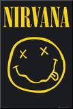 NIRVANA - Smiley Mounted Print