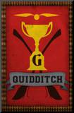 Quidditch Champions House Trophy Poster Print Mounted Print