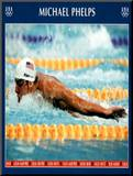 Michael Phelps Swimming World Record Times Olympics Mounted Print