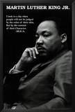Martin Luther King Jr. (Character Quote) Art Poster Print Prints