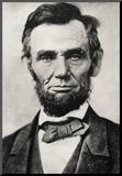 President Abraham Lincoln Portrait Archival Photo Poster Print Mounted Print