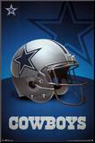 Dallas Cowboys Logo Mounted Print