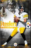 Ben Roethlisberger - Pittsburgh Steelers Mounted Print