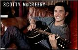 Scotty McCreery - Guitar Mounted Print