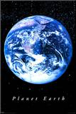 Planet Earth Mounted Print