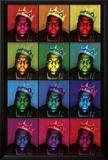 Notorious B.I.G. - Pop Art King Poster