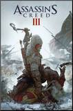Assassin's Creed 3 - Key Art Mounted Print